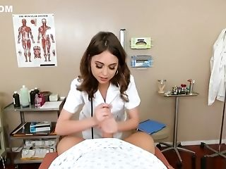 Physician Riley Reid Helps Get The Jizm Out - Brazzers