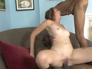 Horny Black-haired Is A True Admirer Of Missionary Style And Gets Pounded By Black Dudes