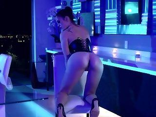 Erotic Movie Of Lustful Honey Molly Stewart Disrobing And Masturbating