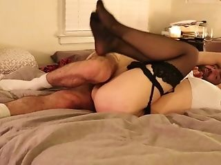 Amature Cums Hard With Wevibe And Anal Vibrator