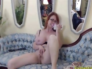 Most Attractive Matures Woman With Big Tits And Hell Of A Cougar Is On Her Phone