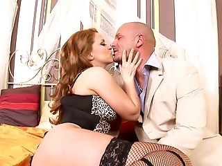 Gorgeous Gina Build Up Spreads Her Gams To Get Her Moist Cunt Fucked