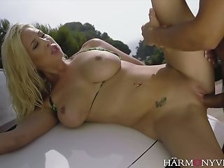 Lexi Lowe Loves Washing Cars In Skimpy Swimsuits And She Just Loves To Fuck