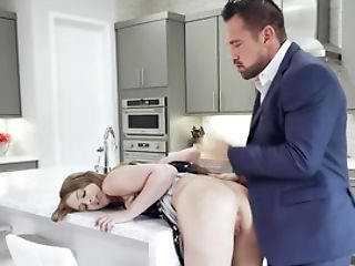 Doll Makes Incredible Faces While Colleague Is Thrusting Penis In Donk