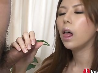 Two Hot Blooded Asian Dudes Fuck Filthy Fuck-a-thon Appeal Asian Chick Asuka Rino