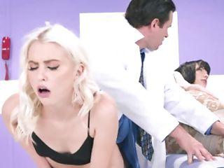 Physician Fucks His Beautiful Blonde Teenage Patient