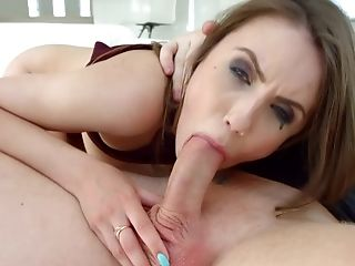 Lucky Fellow Ultimately Gets To Fuck Elle Rose While She Squeals Noisily