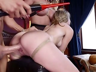 Hot Domina Phoenix Marie And Her Assistant Fuck One Provocative Honey