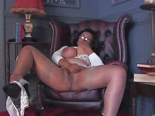 Horny Cougar Danica Collins Takes Off Her Undies To Have Fun