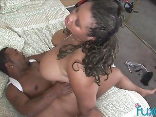 Bbw Nina Perez Interracial Fuck As Her Fat Honeypot Gets Wrecked By A Big Black Cock