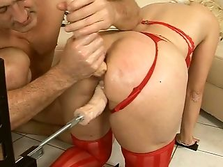 Ample Ash-blonde Matures Gets Her Oversized Cunt Pounded With Fuck Stick Drill