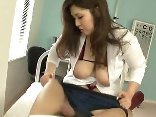 This Is A Standard Practice For A Hot Oriental Nurse To Suck Off