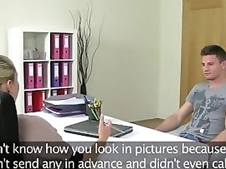 Real Casting Agent Pussyfucked By Her Customer