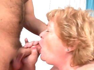 Nasty Porno Vid With Pervy Bbw Granny And Horny Stud