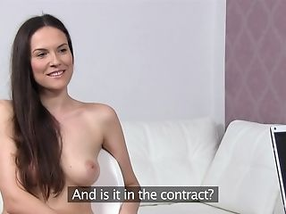 Exotic Superstar In Incredible Casting, Big Tits Intercourse Clip